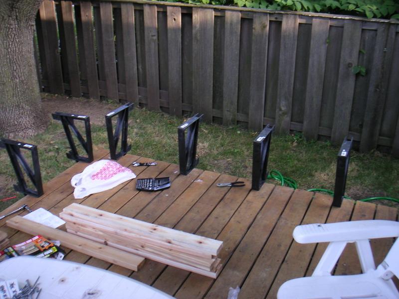 Composite Deck Composite Deck Bench Brackets